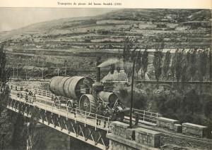 Clot del Moro. Transport del Forn Smidth 1909