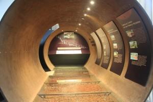 Túnel del centre d'interpretació