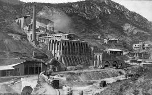 Vista de la Fàbrica de Ciment Asland